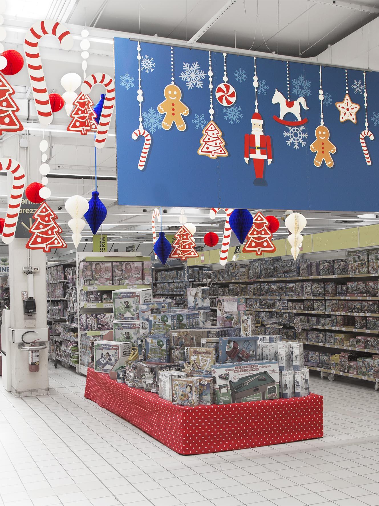 Tabellone con decorazioni