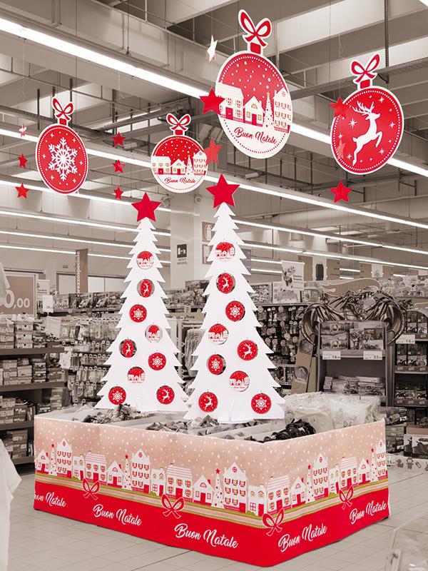 Special Christmas sfere, albero e tnt