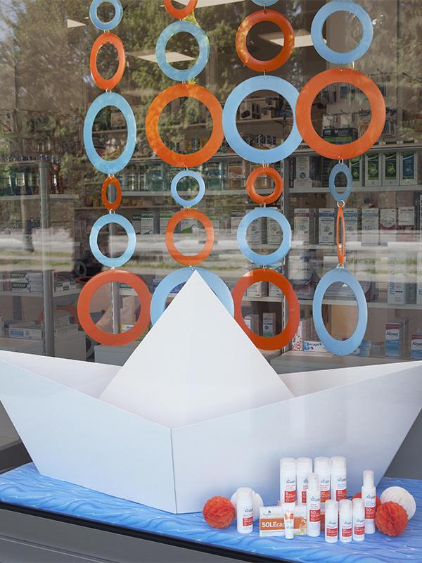 Barca tridimensionale in cartone