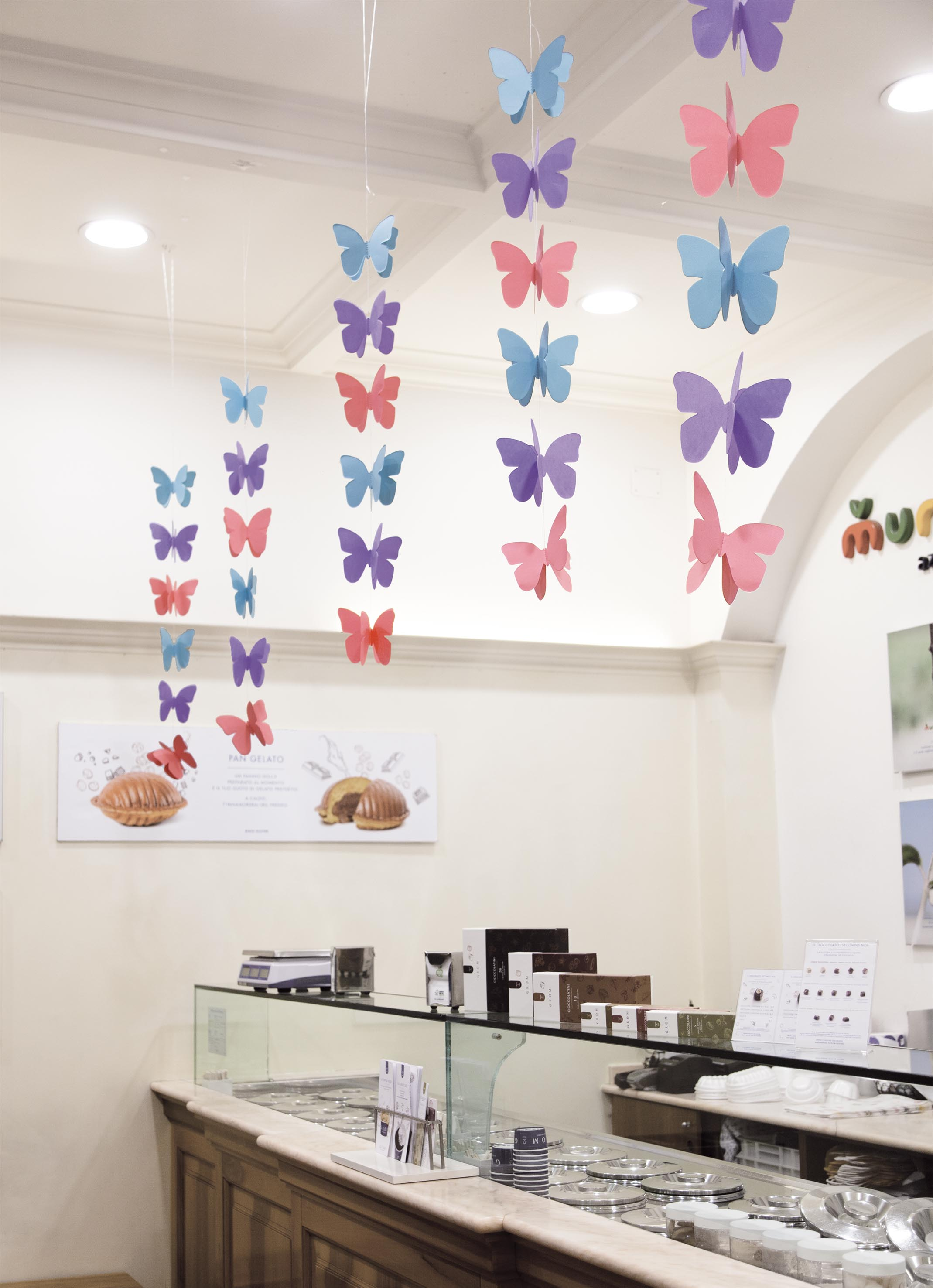 Filari di farfalle